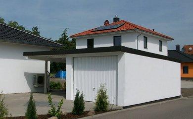 einfache carports bestehen aus 4 pfosten und einem dach. Black Bedroom Furniture Sets. Home Design Ideas